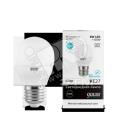 Лампа светодиодная 8Вт Е27 теплый шар Gauss