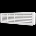 Решетка вентиляционная переточная 450 х 131 комплект 2шт.