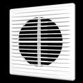 Решетка вентиляционная разъемная с сеткой 150 x 150 (серия П)
