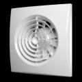 Вентилятор осевой вытяжной ERA  AURA 4C D100,с обратным клапаном