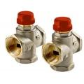Трехходовой термостатический смесительный клапан 1