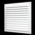 Решетка вентиляционная металлическая с сеткой 250 x 250