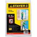 Пленка защитная Stayer HDPE 4х12,5 м, 12 мкм