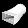 Соединитель эксцентриковый прямоуг.воздуховода 60х120 с круглым D100