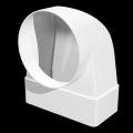 Соединитель угловой прямоуг. воздуховодов 60 х 120 с флан.D100