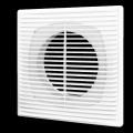 Решетка вентиляционная разъемная с сеткой 210 x 210 D125 мм