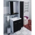 Шкаф-колонна Омега 300 черная