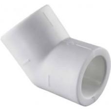 Угольник 45° 40 Tebo цв.белый
