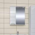 Зеркало-шкаф Родос 50, свет, левый