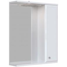 Зеркало-шкаф Афина 60 П белый