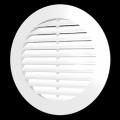Решетка вентиляционная круглая 200 с фланцем D 150