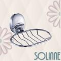 Мыльница решетчатая Solinne 16032, хром