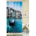 Штора для ванной комнаты фотодизайн Венеция 180 x 180