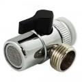 Рассеиватель металлический с переключением на душ
