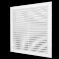 Решетка вентиляционная с сеткой 138 x 138 (серия С)