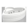 Ванна акриловая BAS Сагра 1600 x 1000 левая