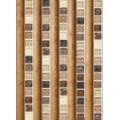 Панель UNIQUEфигурный Рейкьявик коричневый (0,25м*2,7м*8мм)