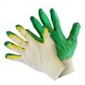 Перчатки вязаные с двойным латексным покрытием