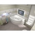Ванна акриловая BAS Вектра 1500 x 900 левая