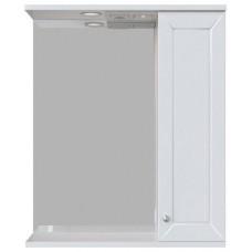 Зеркало-шкаф Бриз 60 П белый