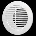 Решетка вентиляционная круглая 145 с фланцем D 100