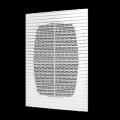 Решетка вентиляционная с сеткой 194 x 194 (серия Г)