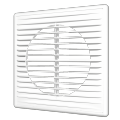 Решетка вентиляционная разъемная с сеткой 210 x 210 (серия П)