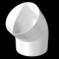 Колено для круглых воздуховодов 45гр. D 125