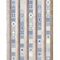 Панель UNIQUEфигурный Рейкьявик голубой (0,25м*2,7м*8мм)