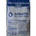 Соль таблетированная Акватек (25кг)